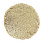 1PC Sequin Table Cover Decorative Round Shiny Table Cover Table Runner for Party