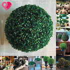 """Artificial Topiary Ball Boxwood Sphere Faux Tree Plant Wedding Party Outdoor 19"""""""