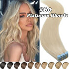Seamless Russian Tape In Skin Weft 100% Remy Human Hair Extensions Ombre-THICK L