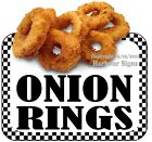 Onion Rings DECAL (CHOOSE YOUR SIZE) Food Truck Concession Vinyl Sticker