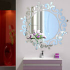 3d Mirror Round Wall Sticker Decal Diy Home Room Art Mural Decor Removable