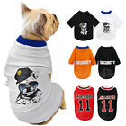 Soft Pet Dog Cat T-Shirt Xsmall Small Puppy Cotton Vest Summer Clothes Chihuahua