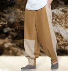 shaolin monks kung fu pants Patchwork patches buddhist zen lay ragged trousers