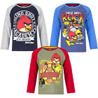 Long Pullover Boys Angry Birds Blue Grey Olive Red 104 116 128 140 811