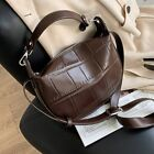 Vintage Stone Pattern Small PU Leather Crossbody Bags Women Winter Shoulder