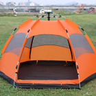 5-8 People Automatic Pop Up Instant Large Tent Waterproof Outdoor Camping Family