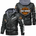 Harley-Davidson - Fau.x Leather Jacket, So Cool-So Unique for Gift