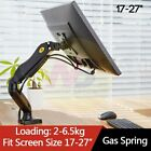"""Monitor Desk Mount Stand 17-27"""" Computer Monitor Holder Arm Full Motion"""