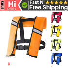 Inflatable Adult Life Vest Water Sports Swimming Fishing Survival Jac-ket N9Z6