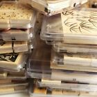 Stampin Up Wood Stamp Sets RETIRED RARE MOUNTED HUGE SELECTION - Used