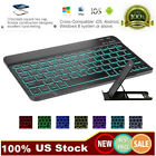 Backlit LED Bluetooth Keyboard for MAC iOS Android PC iPad Tablet Windows