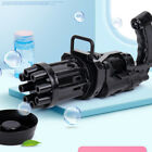 Gatling Electric Bubble Machine Toys Plastic Gun Kids Toys 3 Years Old And Above