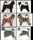 PORTUGUESE WATER DOG COUNTED CROSS STITCH PATTERNS