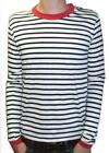 Mens new nautical sailor t-shirt preppy breton vtg mod