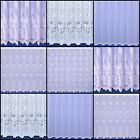 Choice Of Floral Net Curtains - Sold By The Metre - Free Postage