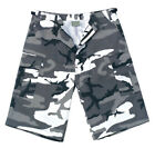 City Camo Army Shorts Extra Long Length - Rothco 7769