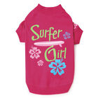 Casual Canine Surf's Up Pet Puppy Tees Surfers Cotton / Polyester Dog T-Shirts