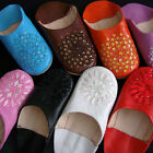 Moroccan Leather Slippers Babouche many colors & sizes