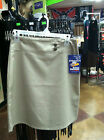 NEW Dickies Girls School Uniform Khaki Wide Band Skirt