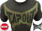 New Mens Tapout UFC MMA Guerrilla Warefare Cage Fighter T shirt black