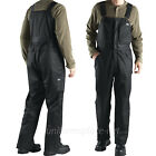 Dickies Bib Overalls Mens Vigor Twill Waterproof LINED TB841 Black Overalls Pant