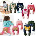 Cartoon Baby Boy Girl Animal Leggings Pants Trousers