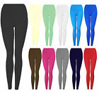 New Girls Winter Thick Cotton Warm Stretch Leggings 7-13 Years