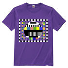 Sheldon Cooper T-Shirt The BIG BANG THEORY 8 Colors (television test pattern)