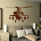 LARGE BANKSY STYLE HELICOPTER ART BEDROOM WALL MURAL STICKER TRANSFER VINYL