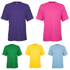 Ladies Short Sleeve Classic Crew Neck Cotton T Shirts Size 6 to 32 / XS to 4XL