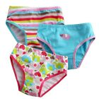 "NEW Baby & Toddler's Girl 3 pack of Underwear Briefs Pantie Set ""Elephant Set"""