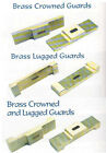 Brass Guards,Knifemaking Guard,Crowned & Lugged, Knife Craft