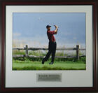 Tiger Woods 2000 US Open Pebble Beach Framed Photo 11x14 OR 16x20