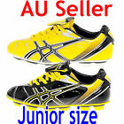 ASICS TURBOSHOT JUNIOR / KIDS FOOTBALL SOCCER BOOTS black or yellow