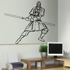 LARGE DARTH MAUL STAR WARS BEDROOM  WALL ART STICKER MURAL TRANSFER VINYL DECAL
