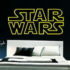 GIANT STAR WARS STARWARS LOGO BEDROOM WALL STENCIL STICKER ART TRANSFER POSTER