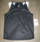 Women's Nike Cross Country/Track Running Singlet Black/White Sz XS M L XXL NWT
