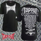 Tapout To Quit Doesn't Exist Mens Tee Shirt  Scroll Believe New
