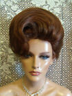 WOW VEGAS WIGS CORONATION UPDO FRENCH TWIST SMOOTH CLASSY LOOK SOFT WAVE POOF