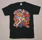Adult T Shirt Cornsnakes Colubrids Tell Hicks Full Color on Cotton