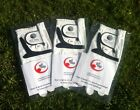 3 ALL WEATHER, Mens Golf Gloves Left or Right Hand -Many Sizes, Very Comfortable