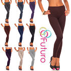 Winter Thick Warm Cotton Leggings Full Length All Sizes 8 - 28 Multicolours