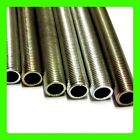 1 METER 1m M10 M13 1mm Pitch Threaded Steel Nipple tube Pre-cut Lenghts hollow