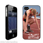 It'sNotJustaGame iPhone4/iPhone4SProtectiveHardCaseDesigns-Choosefrom5Designs