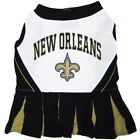 New Orleans Saints dog pet Cheerleader Dress (sizes)