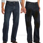 Dickies JEANS Loose Straight Fit 5-Pocket Work Jean Pant DD310 Indigo Stained
