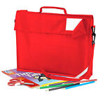 QUADRA A4+ CLASSIC SCHOOL BOOK BAG WITH STRAP SATCHEL IN 5 GREAT COLOURS