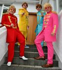 60's SGT PEPPER / BEATLE SUITS - 4 colours / 5 sizes to choose from