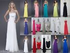 Sexy Chiffon New Party/Evening Bridesmaid Formal Dress/Gown Size 6 8 10 12 14 16