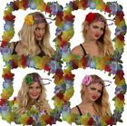 5 x HAWAIIAN FLORAL HAIR COMBS FANCY DRESS